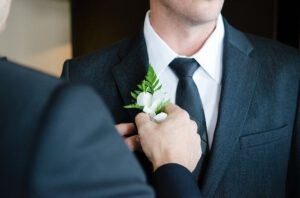 Bruiloft-man